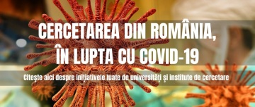 Cercetarea din romania in lupta cu covid 19