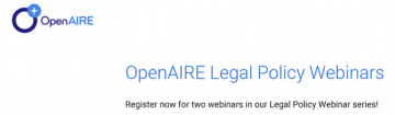stire 21 Aprilie webinarii OpenAire