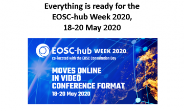 Stire 13 Mai 2020 EOSC hub week program final