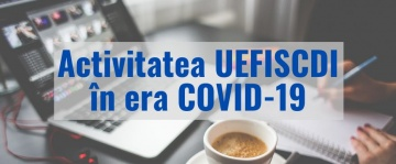 Activitatea UEFISCDI in era COVID 19