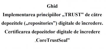 Stire 30 iulie 2020 Ghid Principiile TRUST