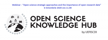 Stire 28 Septembrie 2020 Webinar OSKH 6 oct
