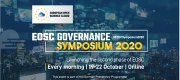 Stire 13 Octombrie 2020 EOSC Symposium 2020