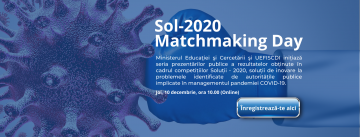 Sol 2020 Matchmaking Day banner