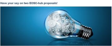 Stire 18 Februarie 2021 contributie EOSC   hub Final Consultatio