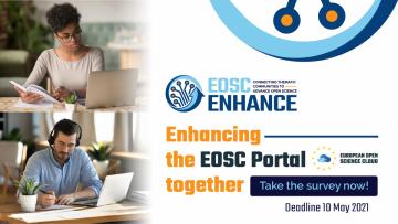 Stire 29 Aprilie 2021 EOSC portal user survey