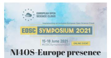 Stire 15 Iunie 2021 Start EOSC Symposium