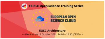 Stire 7 octombrie  2021 EOSCArchitecture